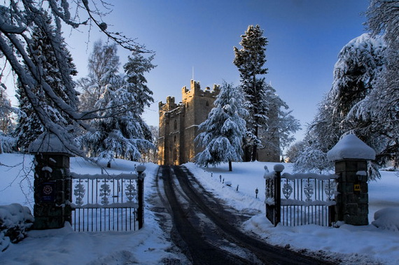 """Langley Castle Hotel """"A Castle Full Of History And Comfort"""" Northumberland_13"""