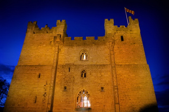 """Langley Castle Hotel """"A Castle Full Of History And Comfort"""" Northumberland_17"""