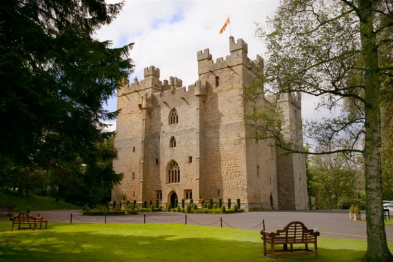 """Langley Castle Hotel """"A Castle Full Of History And Comfort"""" Northumberland_25"""