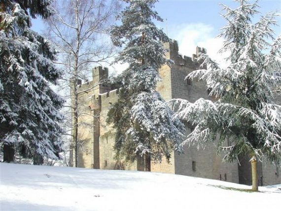 """Langley Castle Hotel """"A Castle Full Of History And Comfort"""" Northumberland_29"""