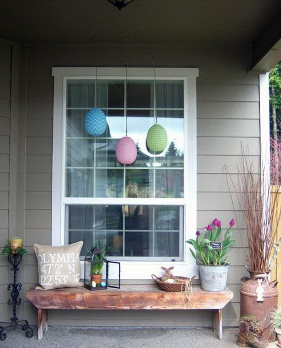 Outdoor Easter Decorations – 60 Ideas For A Special Holiday_05
