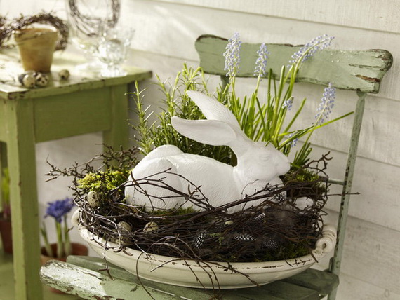 Outdoor Easter Decorations – 60 Ideas For A Special Holiday_20