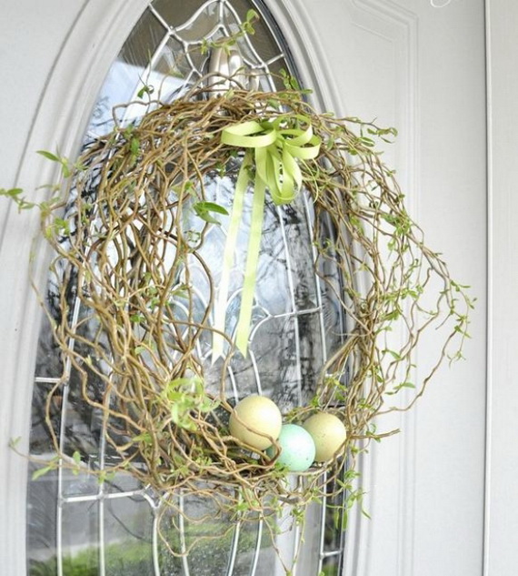 Outdoor Easter Decorations – 60 Ideas For A Special Holiday_3