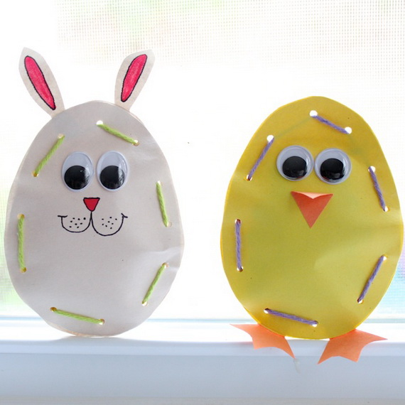 Simple And Attractive Easter and Spring Craft Ideas To Brighten Any Home_13