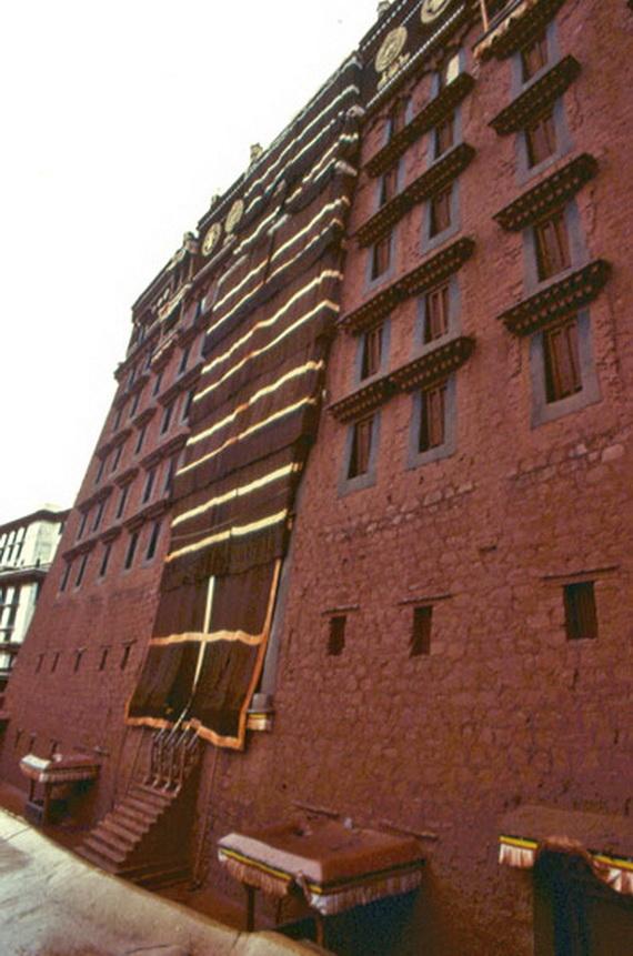 World Heritage Sites; Potala Palace at Lhasa, Tibet, China (1)