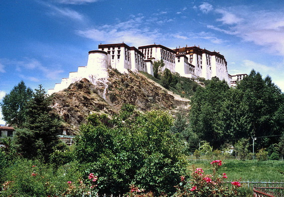 World Heritage Sites; Potala Palace at Lhasa, Tibet, China (13)
