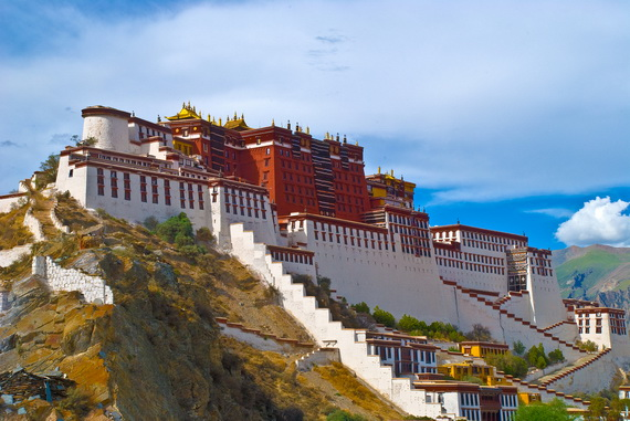 World Heritage Sites; Potala Palace at Lhasa, Tibet, China (16)