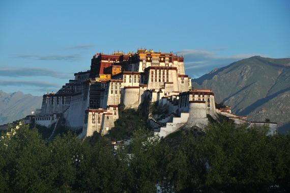 World Heritage Sites; Potala Palace at Lhasa, Tibet, China (17)