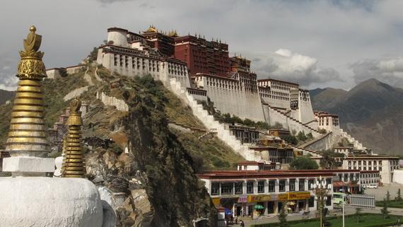 World Heritage Sites; Potala Palace at Lhasa, Tibet, China (3)