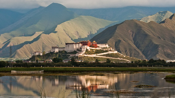 World Heritage Sites; Potala Palace at Lhasa, Tibet, China (4)