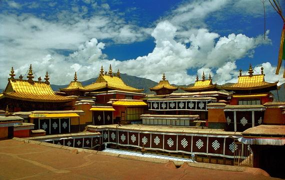 World Heritage Sites; Potala Palace at Lhasa, Tibet, China_04
