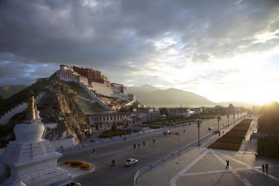 World Heritage Sites; Potala Palace at Lhasa, Tibet, China_07