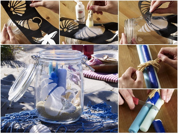 55 Easy and Creative Decorating Ideas For Candle Holders_05