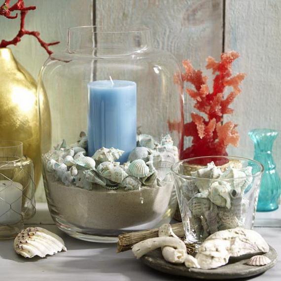 55 Easy and Creative Decorating Ideas For Candle Holders_10