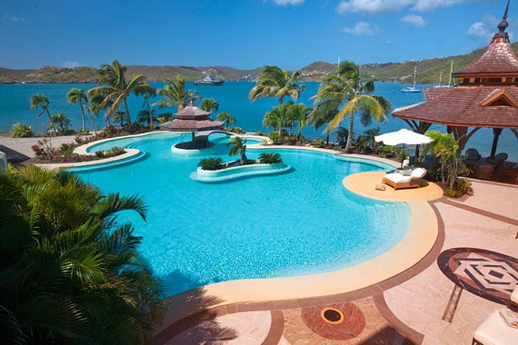 The Most Expensive Holiday Resort Calivigny Island - Caribbean _34