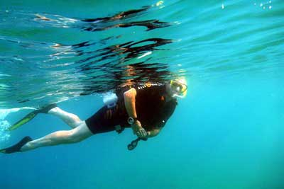 Summer Beach Holidays And Water Sports Activity