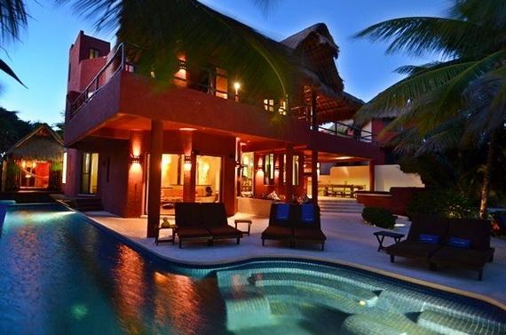 Villa Zen Del Mar - the ZEN of Akumal On The Beach Mexico_12