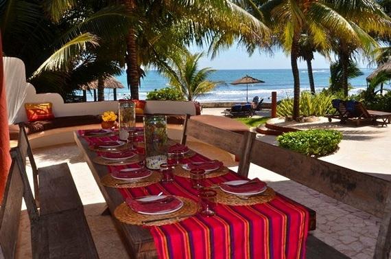 Villa Zen Del Mar - the ZEN of Akumal On The Beach Mexico_19