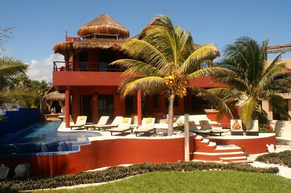 Villa Zen Del Mar - the ZEN of Akumal On The Beach Mexico_31