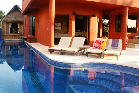 Villa Zen Del Mar - the ZEN of Akumal On The Beach Mexico_34