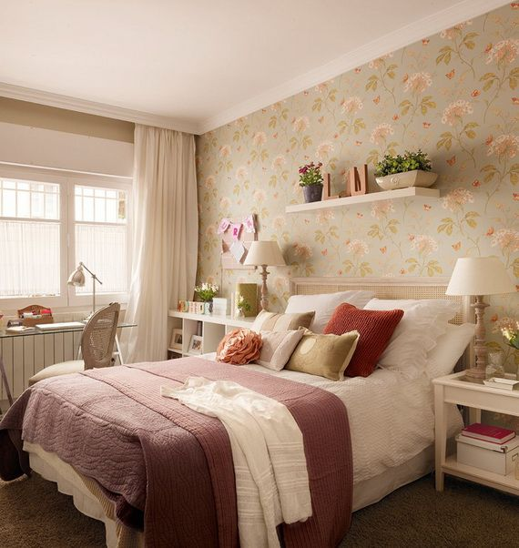 Decorating Interior Apartments With Fabric & Paper Projects_25