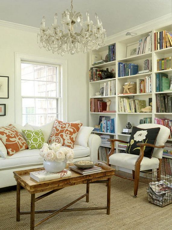 Decorating Interior Apartments With Fabric & Paper Projects_33