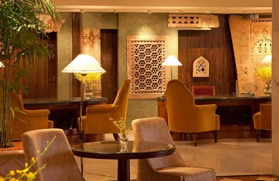 A Luxury Old World Charm in Center New Delhi Taj Mahal Hotel _07