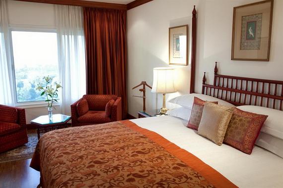 A Luxury Old World Charm in Center New Delhi Taj Mahal Hotel _22