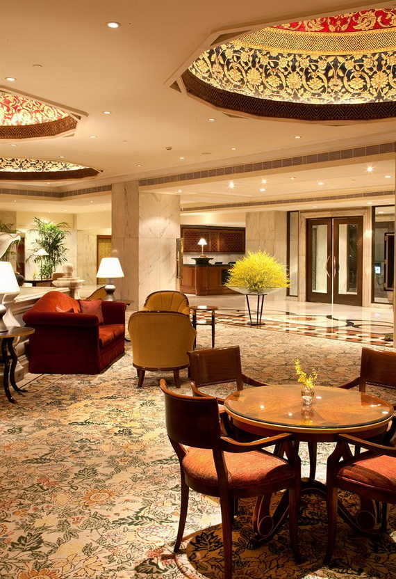A Luxury Old World Charm in Center New Delhi Taj Mahal Hotel _55