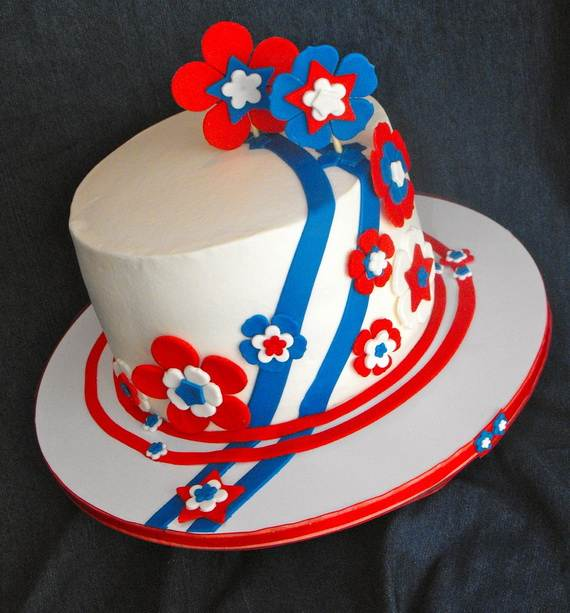 Adorable 4th of July Cake  Designs Ideas (10)