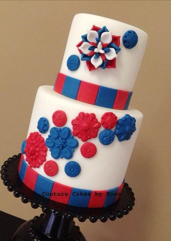 Adorable 4th of July Cake  Designs Ideas (11)