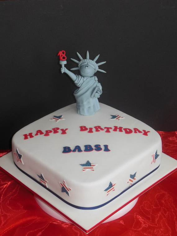Adorable 4th of July Cake  Designs Ideas (15)