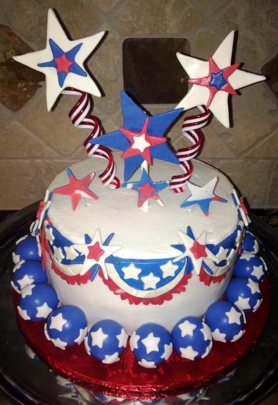 Adorable 4th of July Cake  Designs Ideas (2)