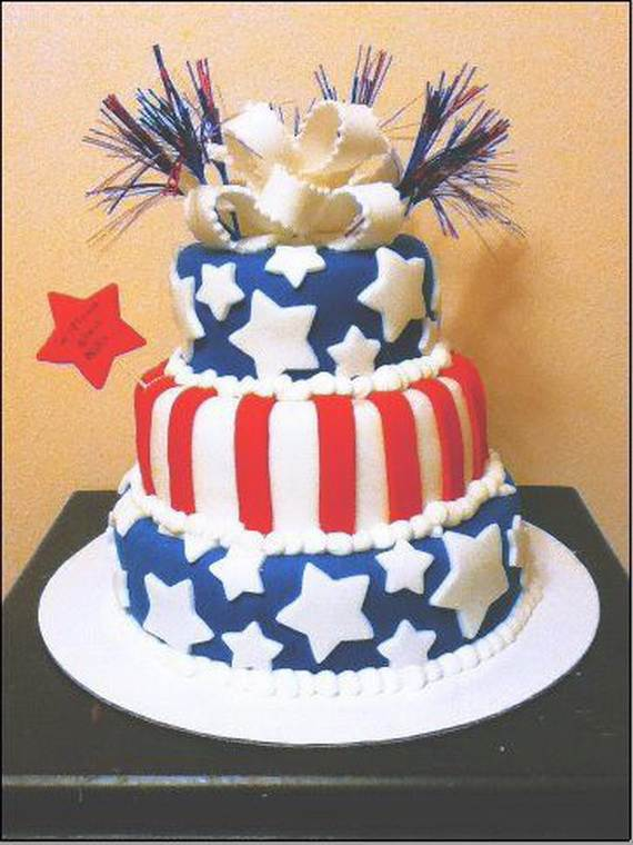 Adorable 4th of July Cake  Designs Ideas (22)