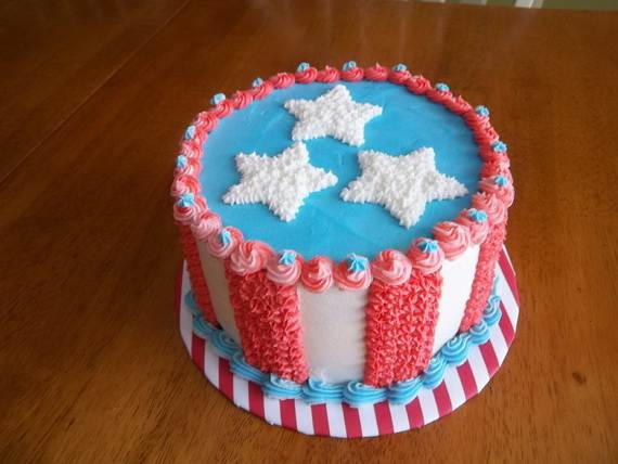 Adorable 4th of July Cake  Designs Ideas (23)