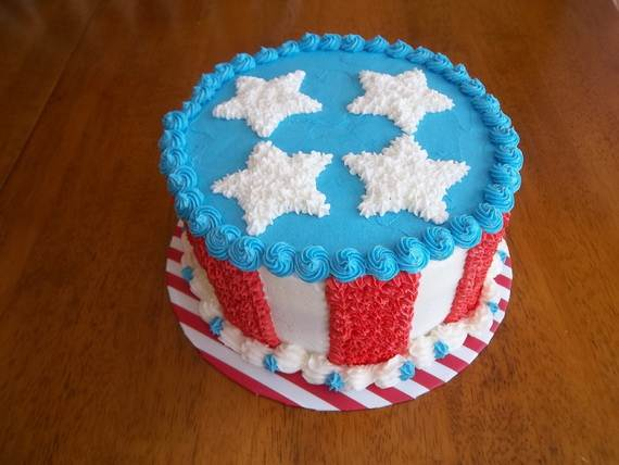 Adorable 4th of July Cake  Designs Ideas (25)
