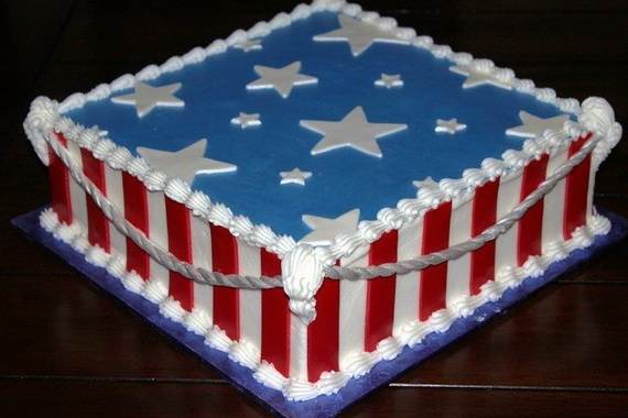 Adorable 4th of July Cake  Designs Ideas (26)
