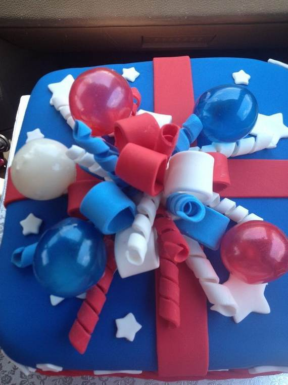 Adorable 4th of July Cake  Designs Ideas (27)