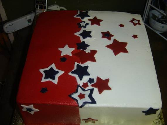 Adorable 4th of July Cake  Designs Ideas (36)