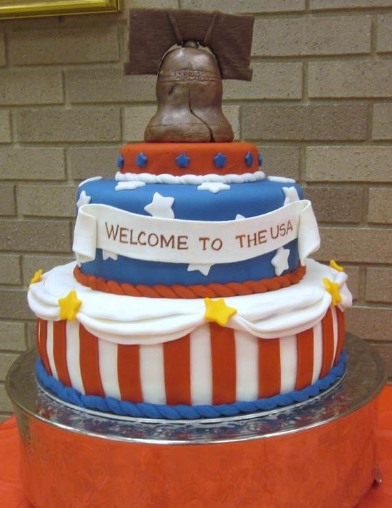 Adorable 4th of July Cake  Designs Ideas (38)