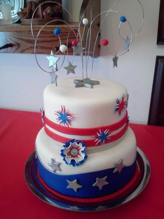 Adorable 4th of July Cake  Designs Ideas (42)