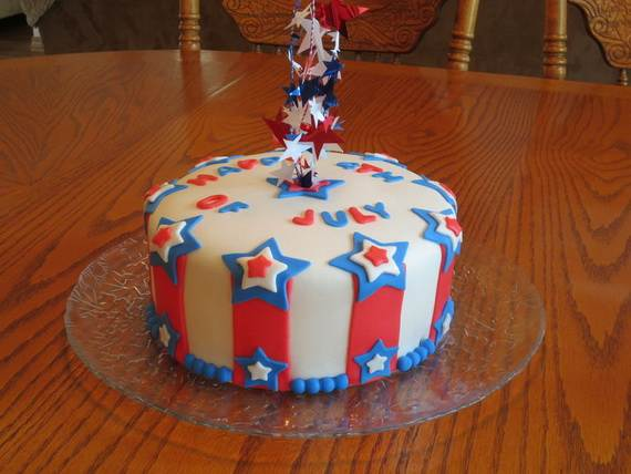 Adorable 4th of July Cake  Designs Ideas (45)
