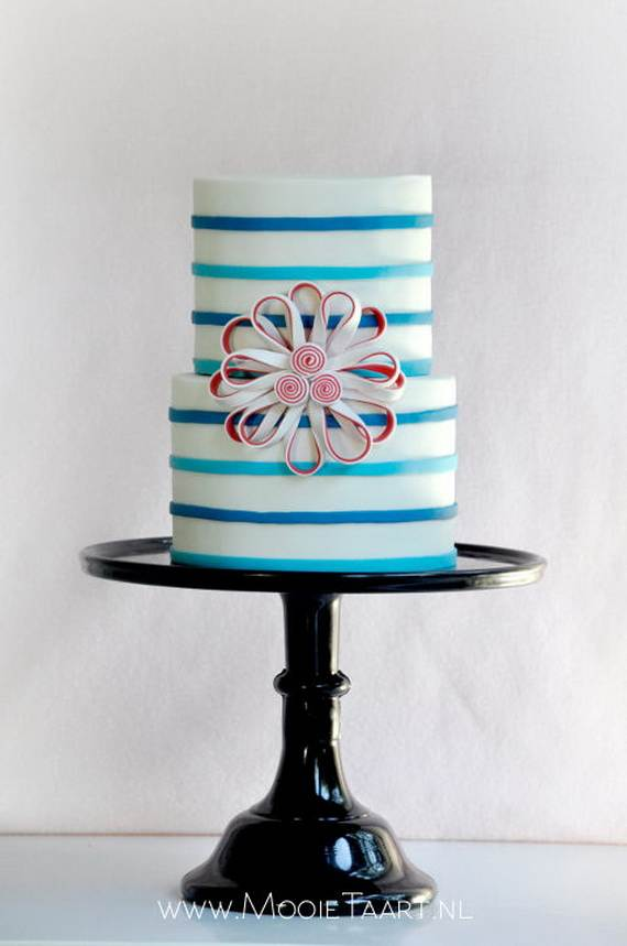 Adorable 4th of July Cake  Designs Ideas (47)