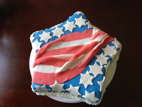 Adorable 4th of July Cake  Designs Ideas (52)