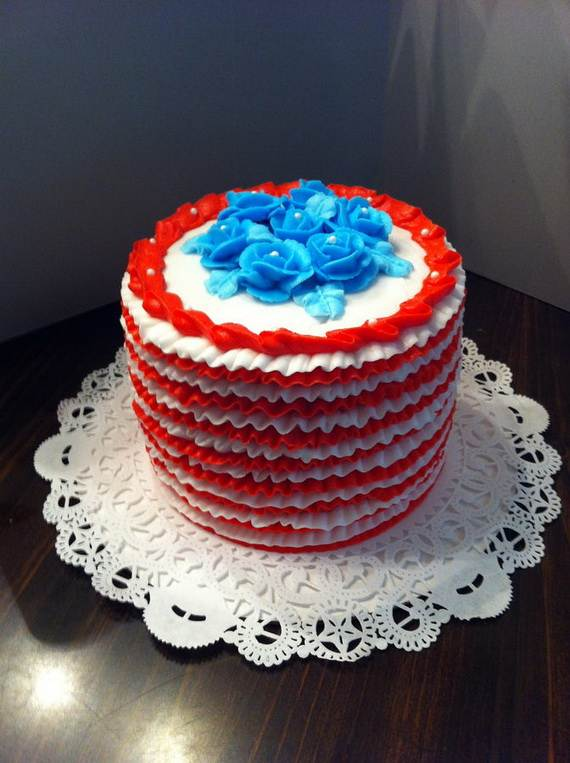 Adorable 4th of July Cake  Designs Ideas (54)