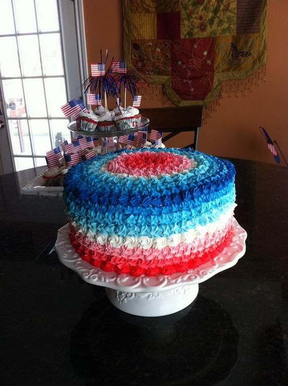 Adorable 4th of July Cake  Designs Ideas (56)
