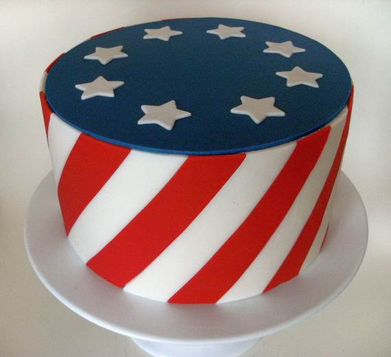 Adorable 4th of July Cake  Designs Ideas (58)