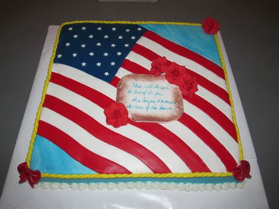 Adorable 4th of July Cake  Designs Ideas (6)