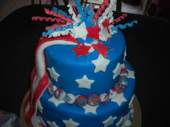 Adorable 4th of July Cake  Designs Ideas (7)