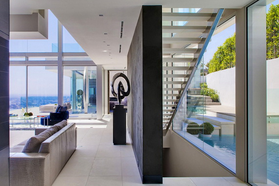Luxury Mansion In Hollywood, Oriole Way By McClean Design in Hollywood_16